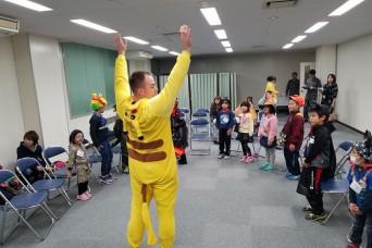 Japan site embraces local community