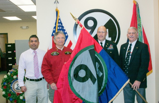 94th Flag Transfer