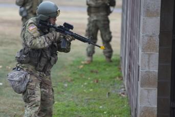 Oklahoma Army National Guardsmen prep for deployment to Ukraine