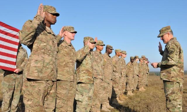 EUCOM Commander visits Soldiers in Ukraine