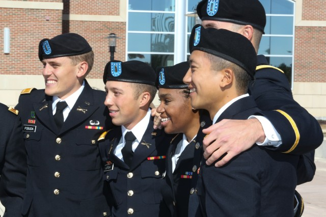 Students from the Armor and Infantry Basic Leader courses graduated Dec. 1 at Fort Benning, Ga.  Thje most recent interation of the coruse was the frist to include female Soldiers.