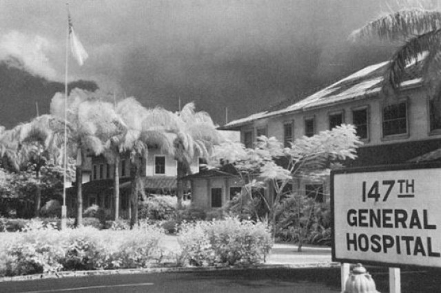 Tripler General Hospital around the time of the Dec. 7, 1941, Pearl Harbor attacks.