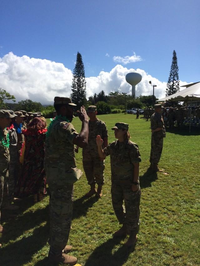 307th ESB Redeployment Ceremony