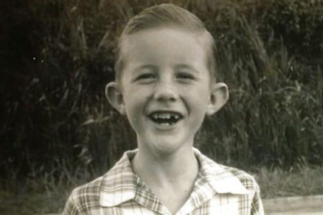 David Burpee as a child.