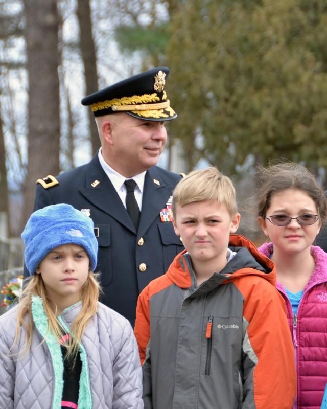 New York National Guard honors President Martin Van Buren