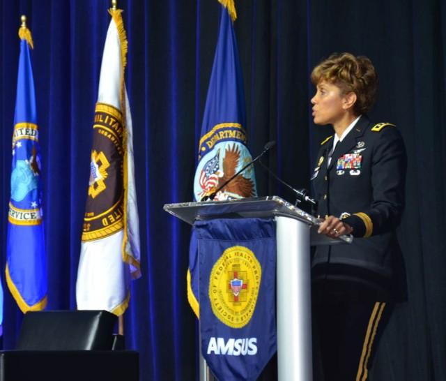 Lt. Gen. Nadja West defines health readiness platform at AMSUS