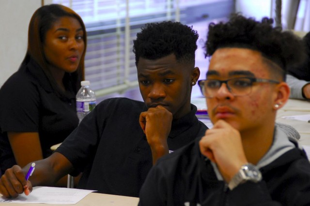 Of Joppatowne High School's roughly 660 students, 123 are currently enrolled in the Homeland Security and Emergency Preparedness program. Now in its 10th year, the unique program includes 44 sophomores, 46 juniors and 33 seniors.