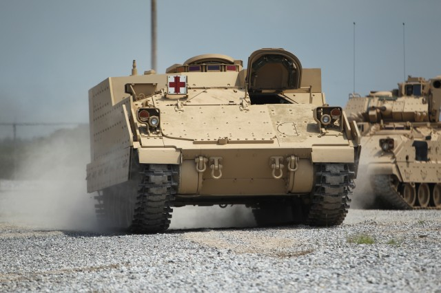 The first Armored Multi-Purpose Vehicle, or AMPV, is scheduled to be handed over to the Army Dec. 15, 2016, for testing.