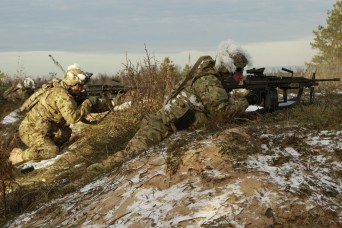 Paratroopers train to build capabilities during CALFEX with NATO partners