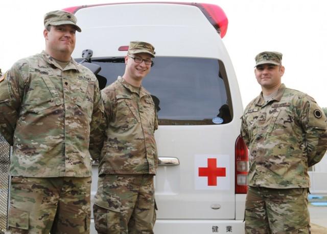 Combat medics in Action