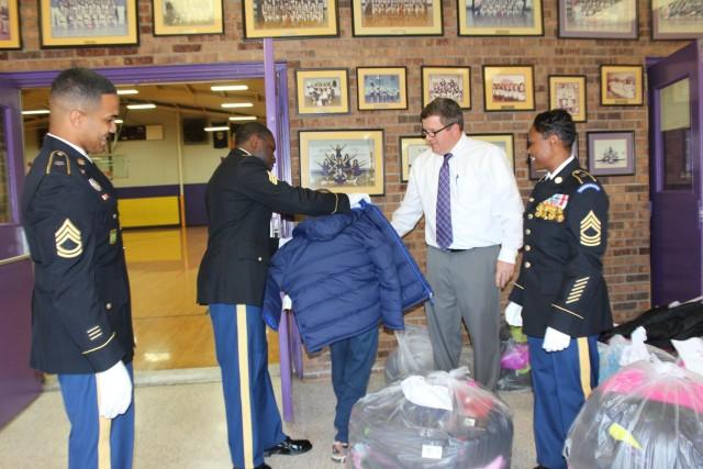 HRC Donates Winter Clothes