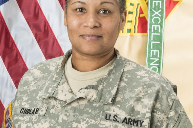 After 31 years of service to our nation, Command Sgt. Maj. Erika Gholar is retiring. The United States Army Garrison Natick workforce will bid farewell to its senior noncommissioned officer in a transfer of responsibility ceremony scheduled for Jan. 6.