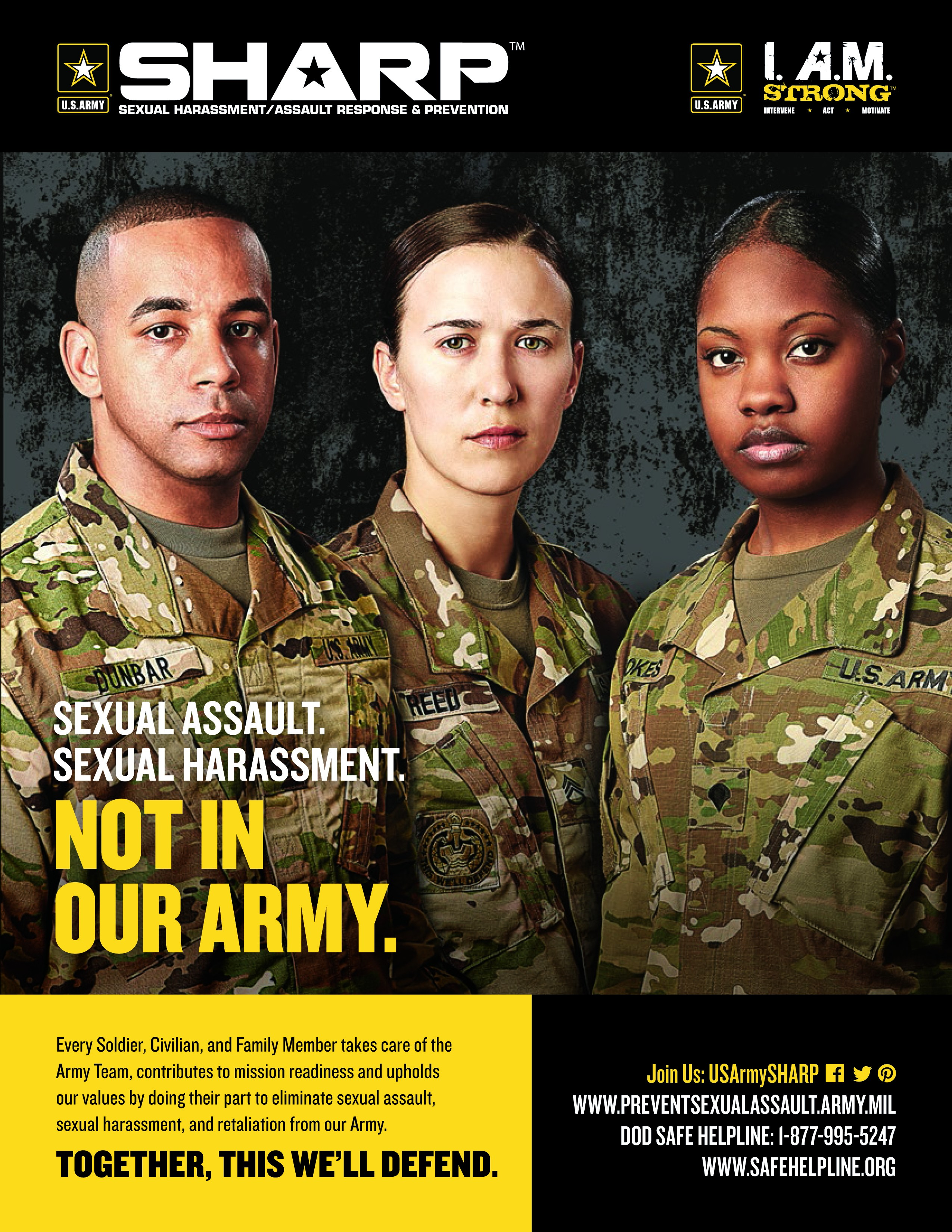 Sexual harassment of men in the military