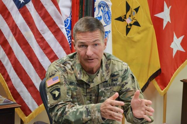Lt. Gen. James McConville, Army G-1