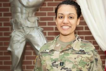 Army captain defeats cancer