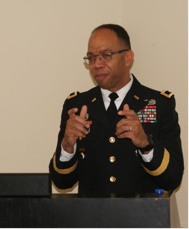 Maj. Gen. Roper Speaks at Deactivation