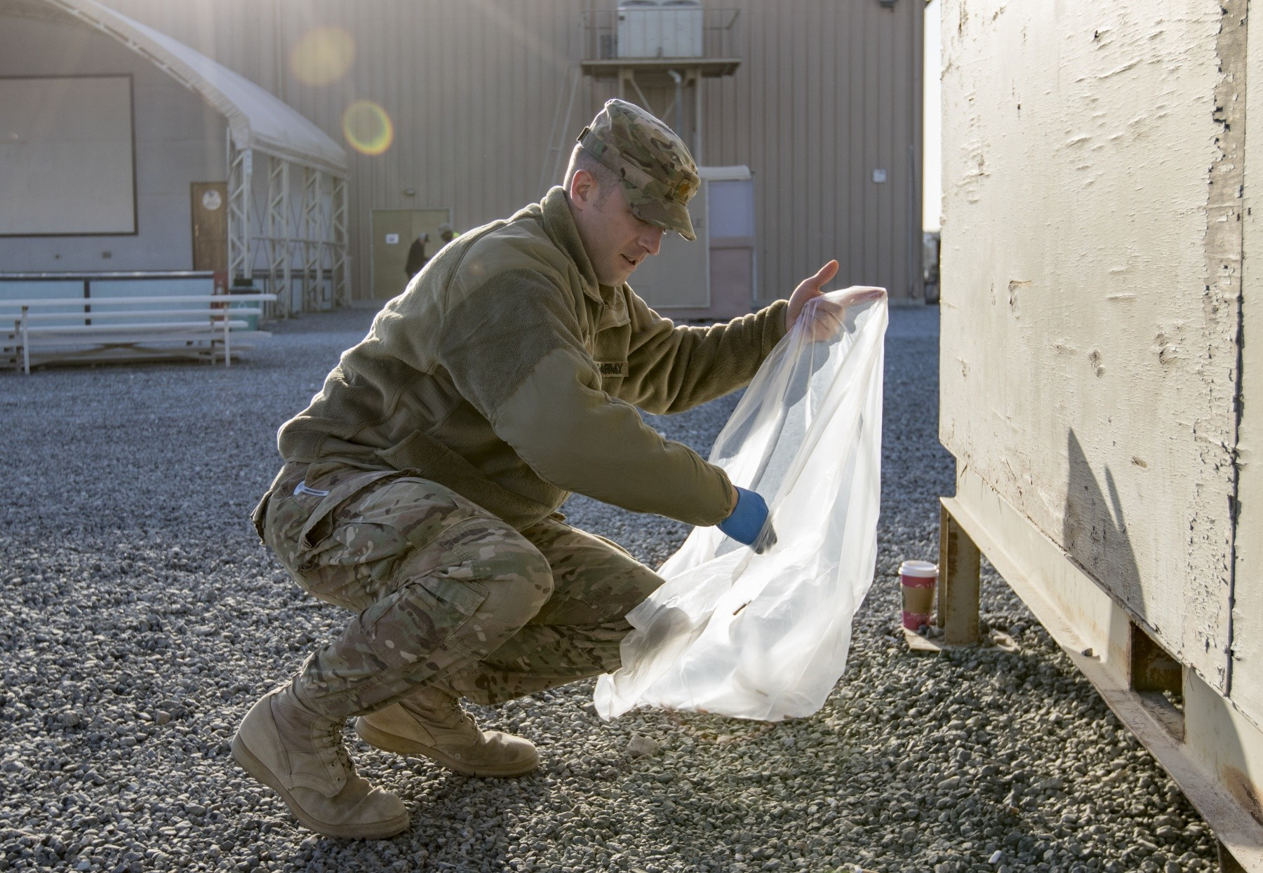 US military digs up farmers field to search for remains