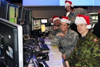 National Guard Airmen gear up to track Santa Claus