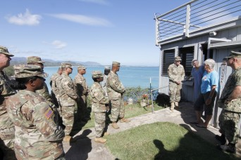 Senior enlisted advisors tour Hilltop House, DPAA in commemoration of Pearl Harbor