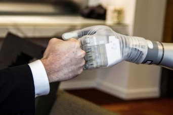 DARPA provides state-of-the-art bionic arms to Walter Reed