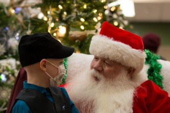 Young patient ignites holiday spirit