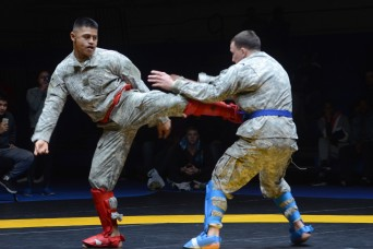'Diehard' Soldiers crowned champs at 'Fight Night' tournament