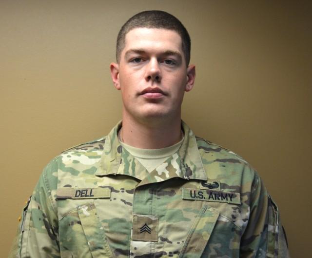 Meet Your Army: Sgt. David Dell, 597th Transportation Brigade