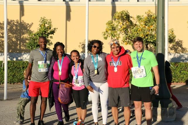 AFSOUTH Soldiers run legendary marathon