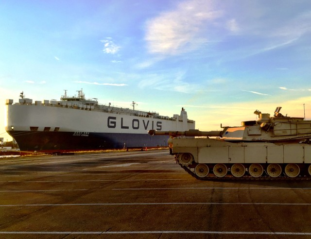 3ABCT kicks off Europe arrival with seaport operations