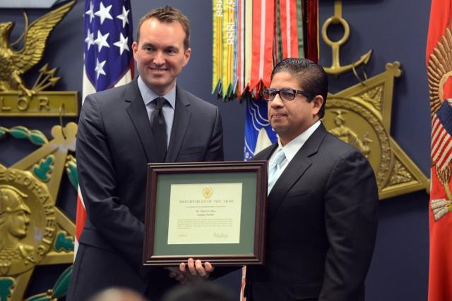 CASA investiture ceremony, Jan. 9, 2017, the Pentagon