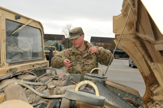 4th ID begins convoy from Germany to Poland