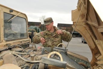 4th ID begins convoy across Germany to Poland