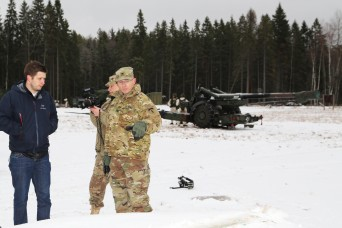 Army engineer goes from Alabama to Estonia, becomes 'one-man office'
