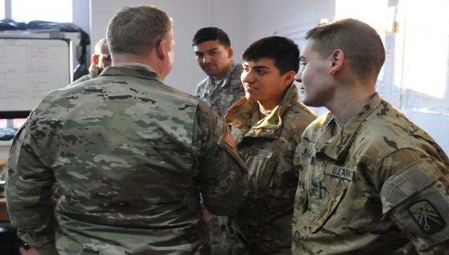 Less talking, more listening: 21st TSC Commanding General