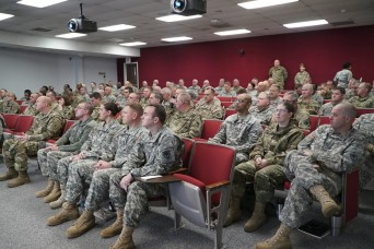 South Carolina National Guard conducts professional development workshop for warrant officers