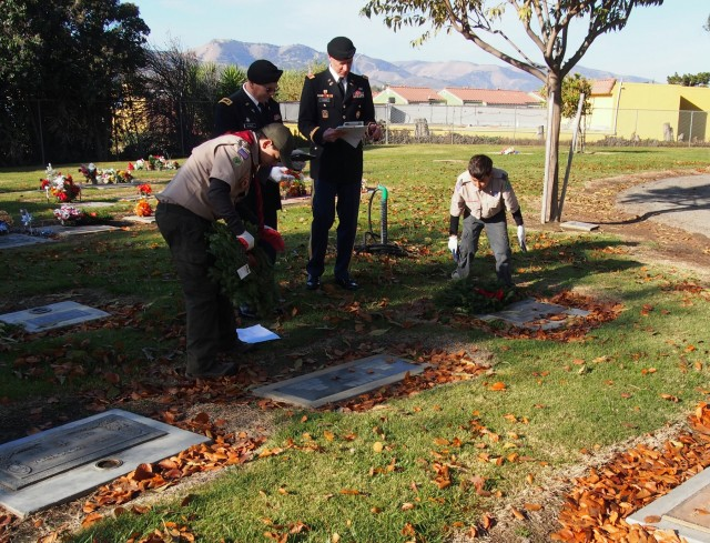 VFW Auxiliary brings Wreaths Across America to the King City Cemetery