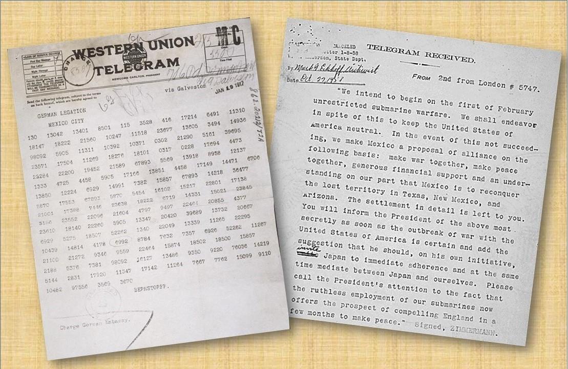 Zimmermann Telegram Decoded Zimmermann tel...
