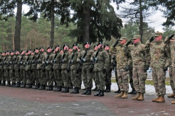 Polish troops, community welcome 'Iron Brigade'