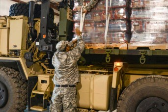 Louisiana National Guard delivers water to St. Joseph community