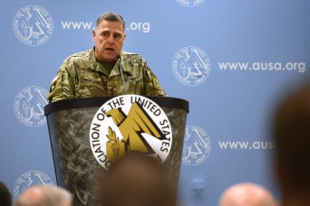 Milley: Larger Army without funding to support it would be 'hollow force'