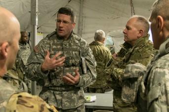 Kansas and Missouri Army National Guard prep for overseas deployment