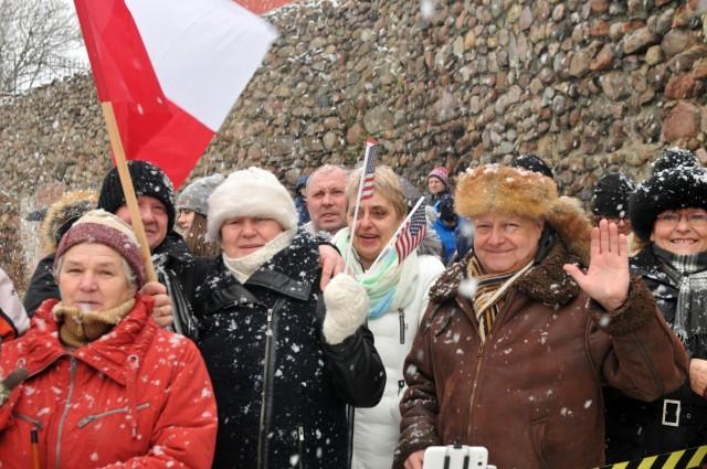 Poland welcomes 'Iron Brigade'