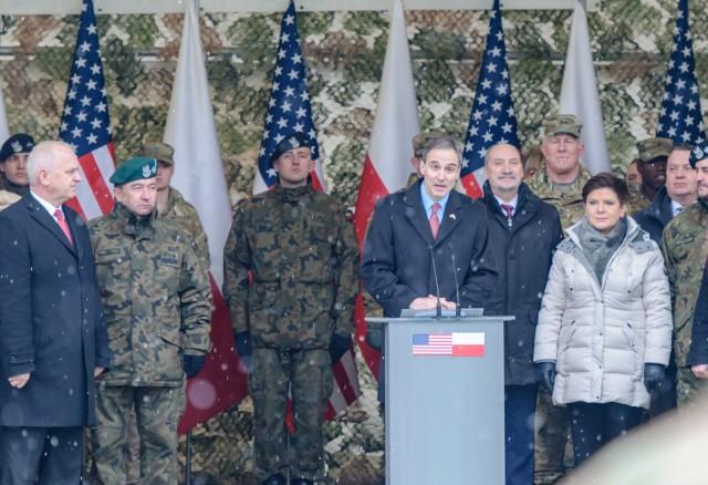 'Iron Brigade' participates in Polish celebration