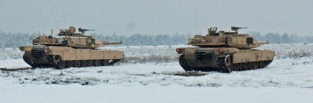 'Fighting Eagles' conduct first gunnery range in Poland