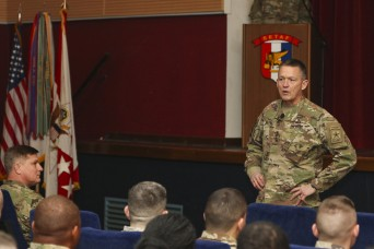 Allyn emphasizes value of Soldiers, efforts in Africa during visit