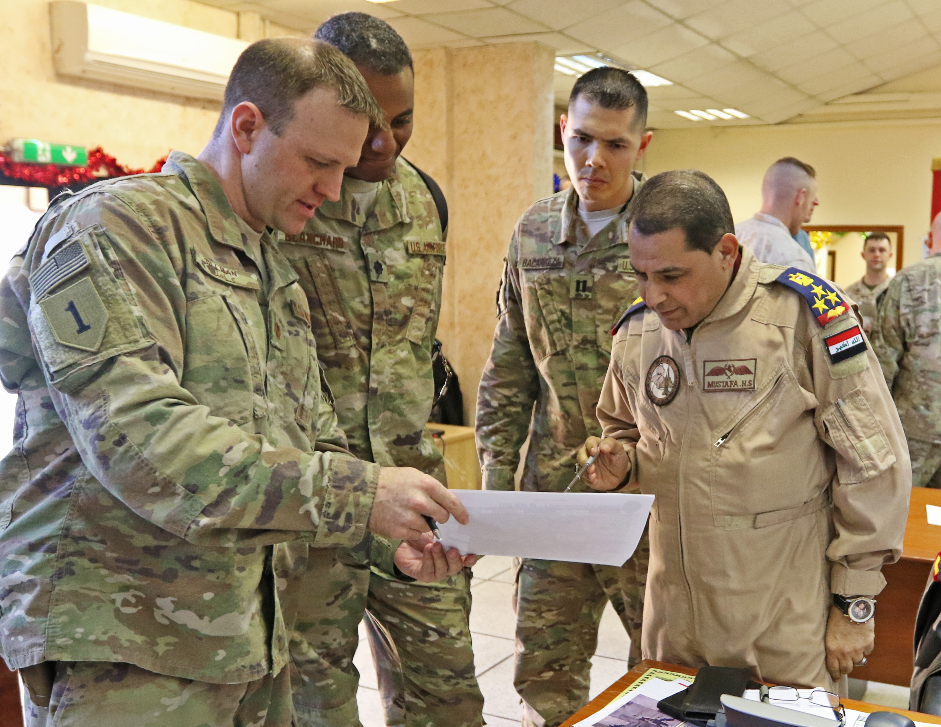 Combined Joint Operations Center Baghdad Brings Coalition