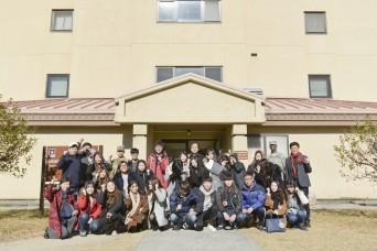 Kei-myung Univ. Students visited USAG-Daegu
