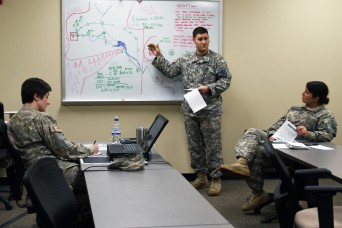 1-151st Attack Reconnaissance Battalion conducts Air Mission Commander training