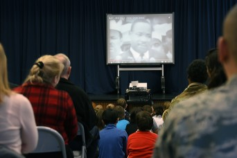 Marshall Center, DoDEA School Host MLK Day Celebration
