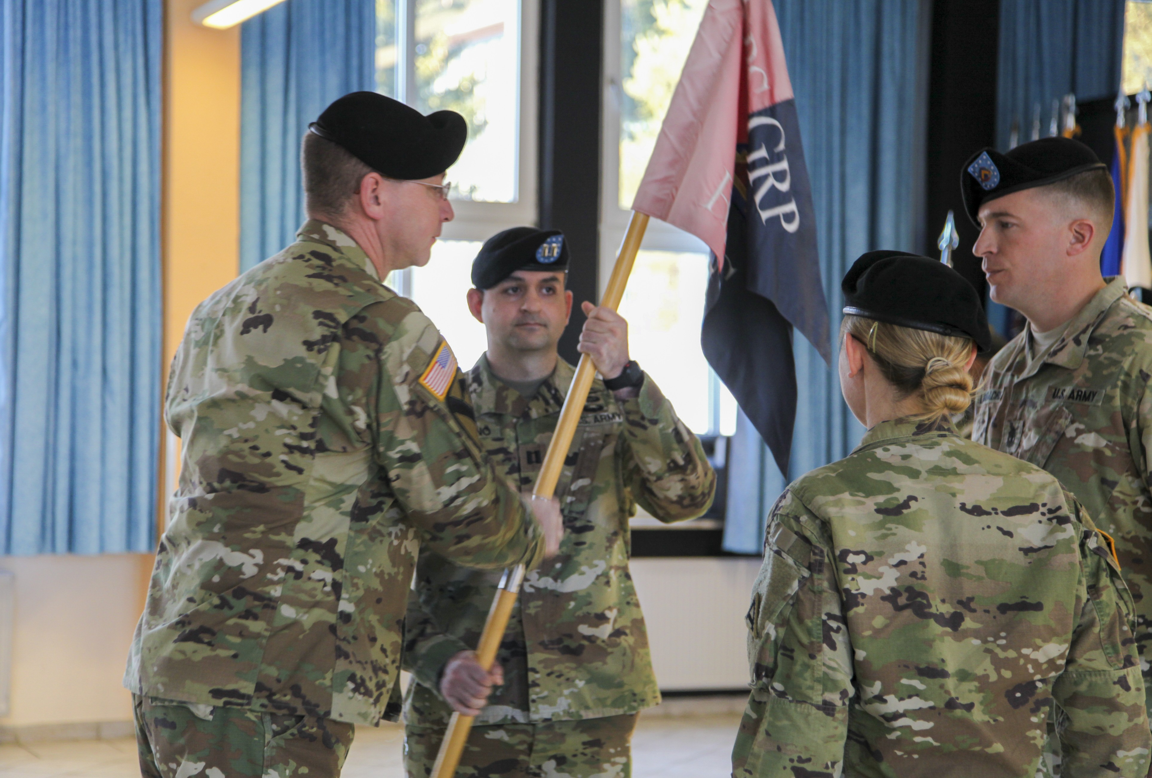 JMRC HHC passes the guidon | Article | The United States Army